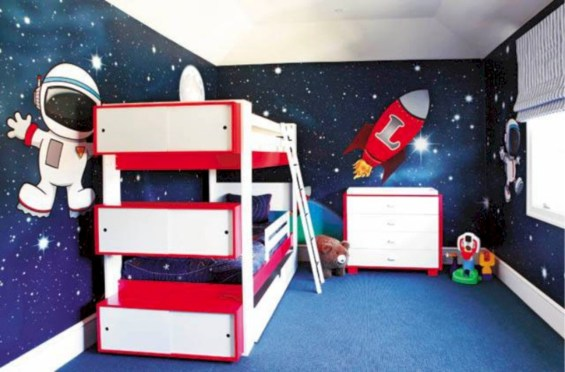 Fun and easy way to decorate your playroom (15)