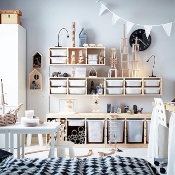 Fun and easy way to decorate your playroom (18)