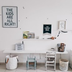 Fun and easy way to decorate your playroom (23)