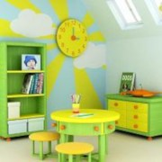 Fun and easy way to decorate your playroom (3)