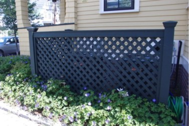 Hide your outdoor eyeshore project 12