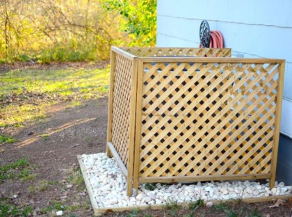 Hide your outdoor eyeshore project 35