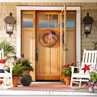 Ideas to decorate your entryway to replace porch 33