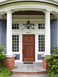 Ideas to decorate your entryway to replace porch 34