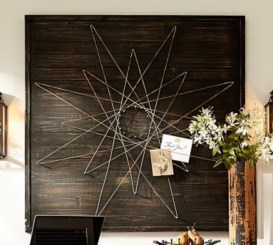 Make your own string art that look artsy for your space 29