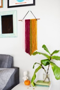 Make your own string art that look artsy for your space 36