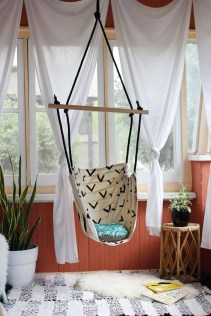 On a budget make your own curtain 11