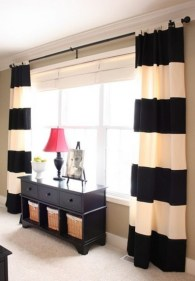 On a budget make your own curtain 28