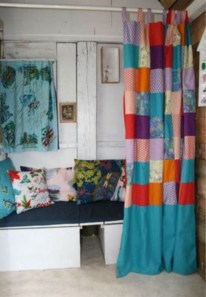 On a budget make your own curtain 33