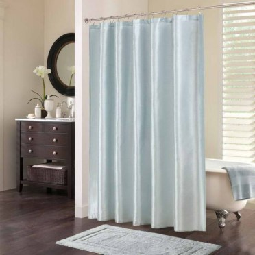 On a budget make your own curtain 42