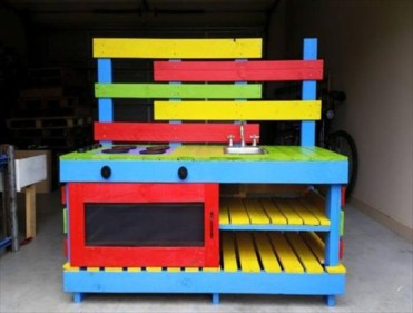 Pallet projects and ideas for kids 05