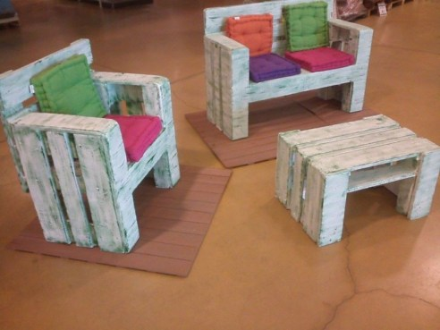 Pallet projects and ideas for kids 20