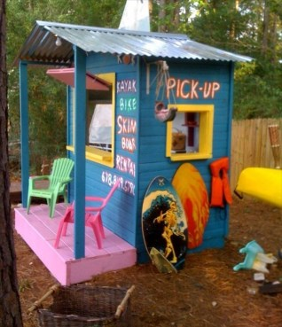 Pallet projects and ideas for kids 21