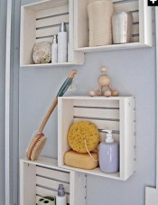 Simple and easy diy storage ideas for amazing bathroom 06
