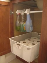 Simple and easy diy storage ideas for amazing bathroom 14