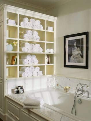 Simple and easy diy storage ideas for amazing bathroom 15