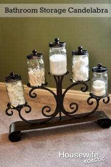 Simple and easy diy storage ideas for amazing bathroom 18