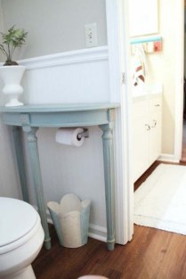 Simple and easy diy storage ideas for amazing bathroom 20