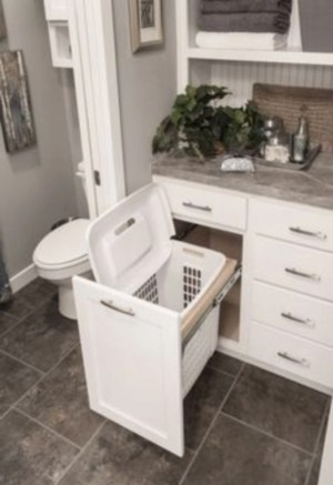 Simple and easy diy storage ideas for amazing bathroom 33