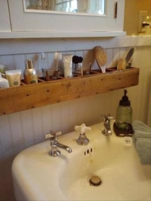 Simple and easy diy storage ideas for amazing bathroom 38