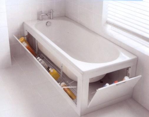 Simple and easy diy storage ideas for amazing bathroom 41