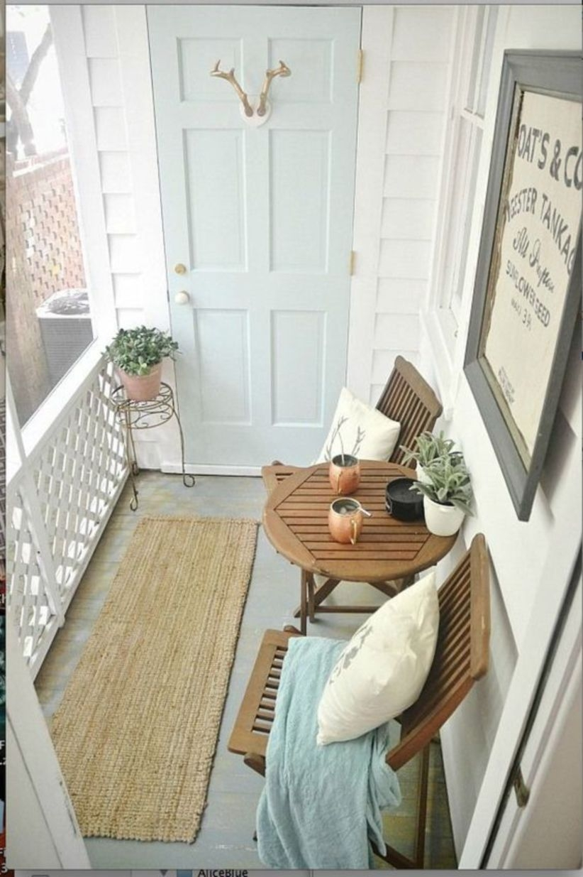 Small and pretty patio room design ideas