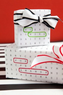Unique gift wrap ideas for christmas 29