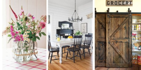 Diy ideas to add rustic farmhouse feel to your kitchen 04