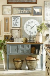 Diy ideas to add rustic farmhouse feel to your kitchen 13