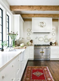 Diy ideas to add rustic farmhouse feel to your kitchen 14