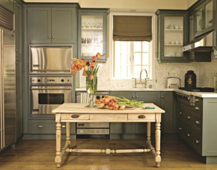 Diy ideas to add rustic farmhouse feel to your kitchen 18