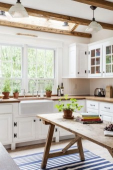 Diy ideas to add rustic farmhouse feel to your kitchen 19