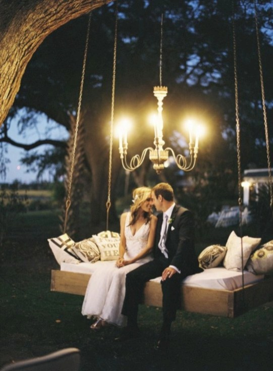 Diy outdoor swing ideas for your garden 01