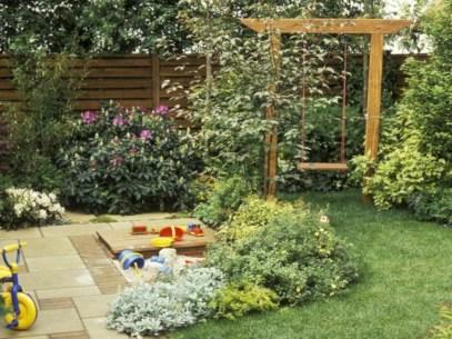 Diy outdoor swing ideas for your garden 02