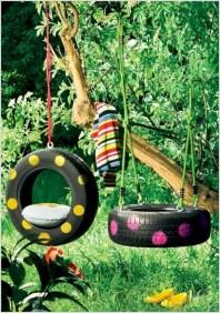 Diy outdoor swing ideas for your garden 06