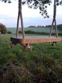 Diy outdoor swing ideas for your garden 16
