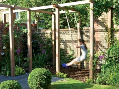 Diy outdoor swing ideas for your garden 19