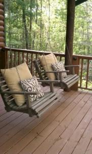 Diy outdoor swing ideas for your garden 35