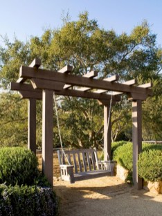 Diy outdoor swing ideas for your garden 36