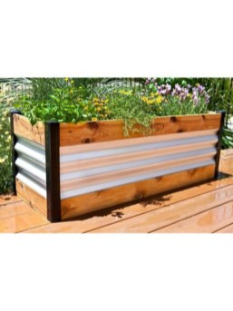 Easy to make diy raised garden beds ideas 06