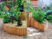 Easy to make diy raised garden beds ideas 11