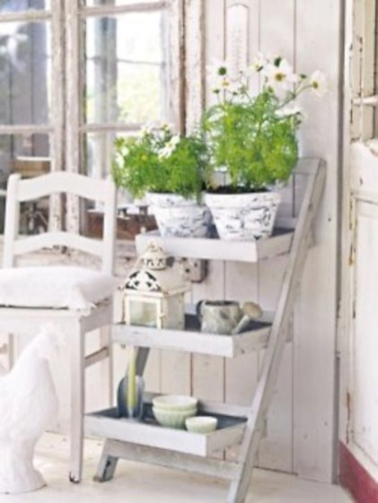 Gorgeous diy ladder-style herb garden 20