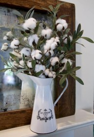 Incredible cotton decor farmhouse that you will love it 13