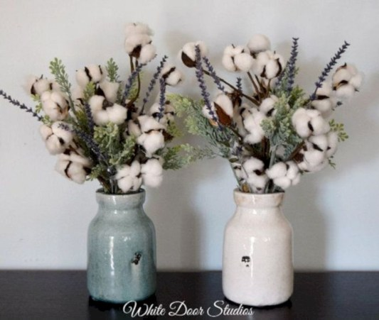 Incredible cotton decor farmhouse that you will love it 45