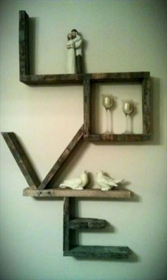 Simple diy wall art ideas for your home 14