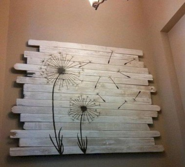 Simple diy wall art ideas for your home 27