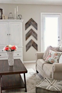 Simple diy wall art ideas for your home 37