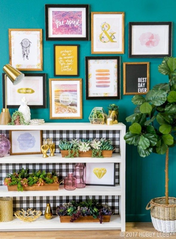 Simple diy wall art ideas for your home 41