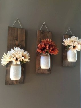 Simple diy wall art ideas for your home 43