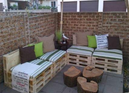 Simple and easy ideas from pallet recycling 15